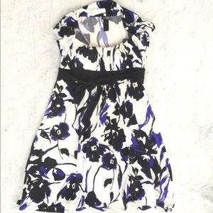 Bisou Bisou Floral Dress Size 16